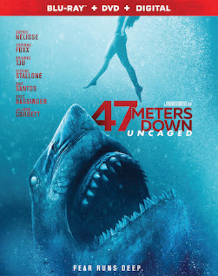 47 Meters Down Uncaged 2019 English 720p WEB-DL 750MB ESubs