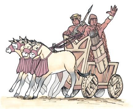 Sumerian chariot from 'Faustus Furius'