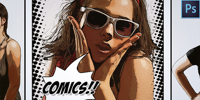 Transform a Photo into a Comic book Effect — Photoshop Tutorial