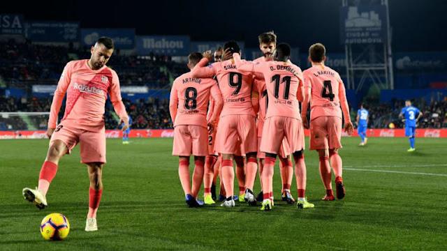 موعد ومعلق مباراة برشلونة وإيبار القادمة السبت 22-02-2020 الدوري الإسباني