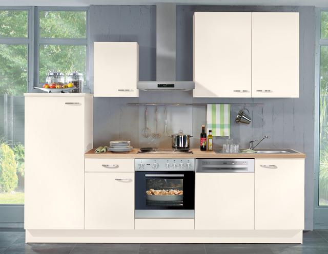 Küchenzeile Mit Elektrogeräten Günstig