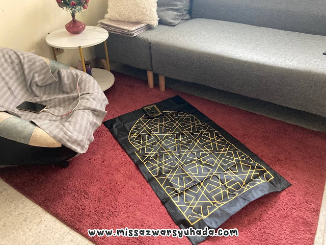 TBF Compact + Travel Prayer Mat Malaysia with Bag by PTT Outdoor