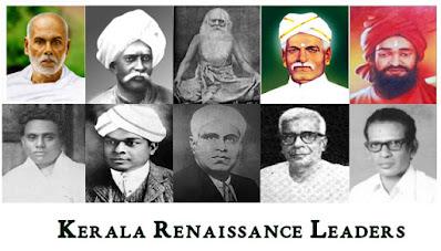 Kerala Renaissance: Leaders & Birth Places