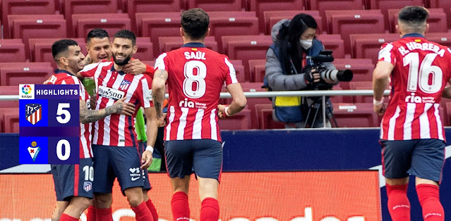 Atlético Madrid vs SD Eibar – Highlights
