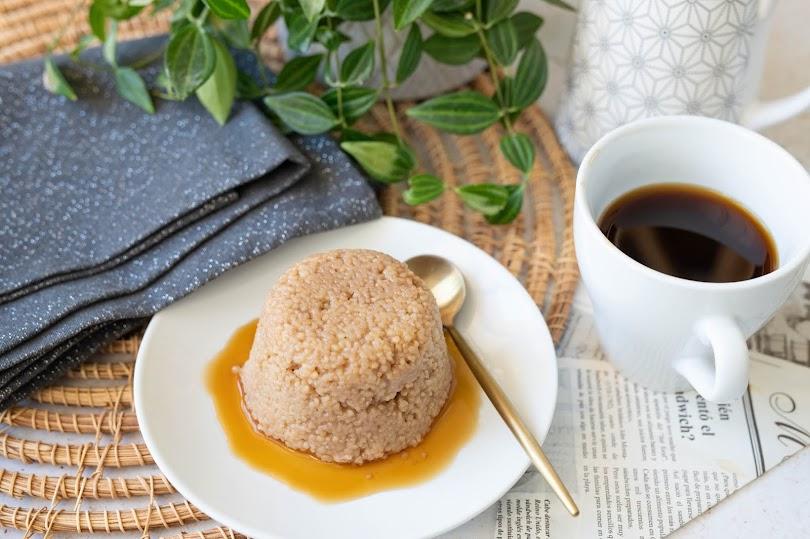 Recette semoule au lait vanille et café