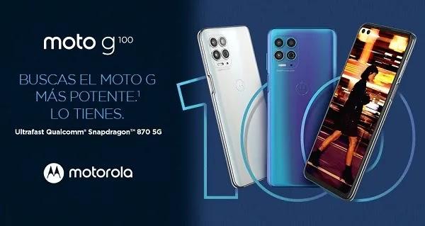 El Moto G100 de Motorola es oficial, características y precio