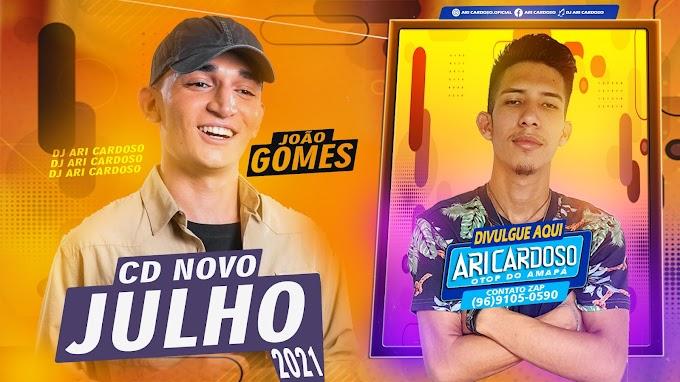[✔]João Gomes Cd Novo Julho 2021 Repertório Atualizado Pegada De Vaqueiro 2021 - [Dj Ari Cardoso]
