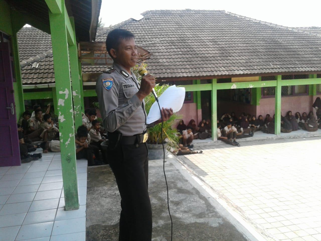 Police Goes to School, Polres Kebumen Sosialisasi Bahaya Narkoba