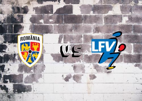 Rumanía vs Liechtenstein  Resumen