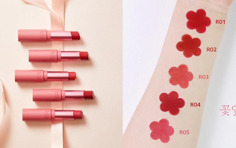 Son Black Rouge All Day Rose Velvet Lipstick R02