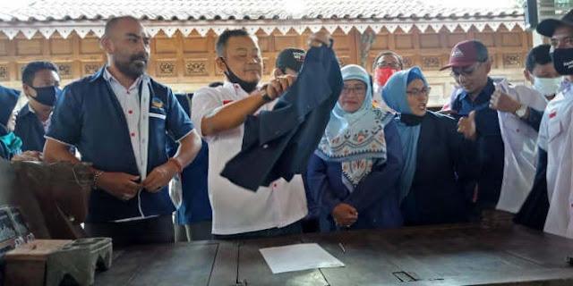 Kecewa Rekomendasi DPP, Ketua Dan Pengurus DPD Nasdem Sukoharjo Ramai-ramai Mundur