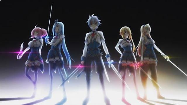 Saijaku Muhai no Bahamut - Daftar Anime Fantasy School Terbaik