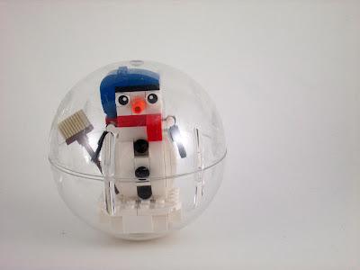 MOC LEGO Boneco de neve