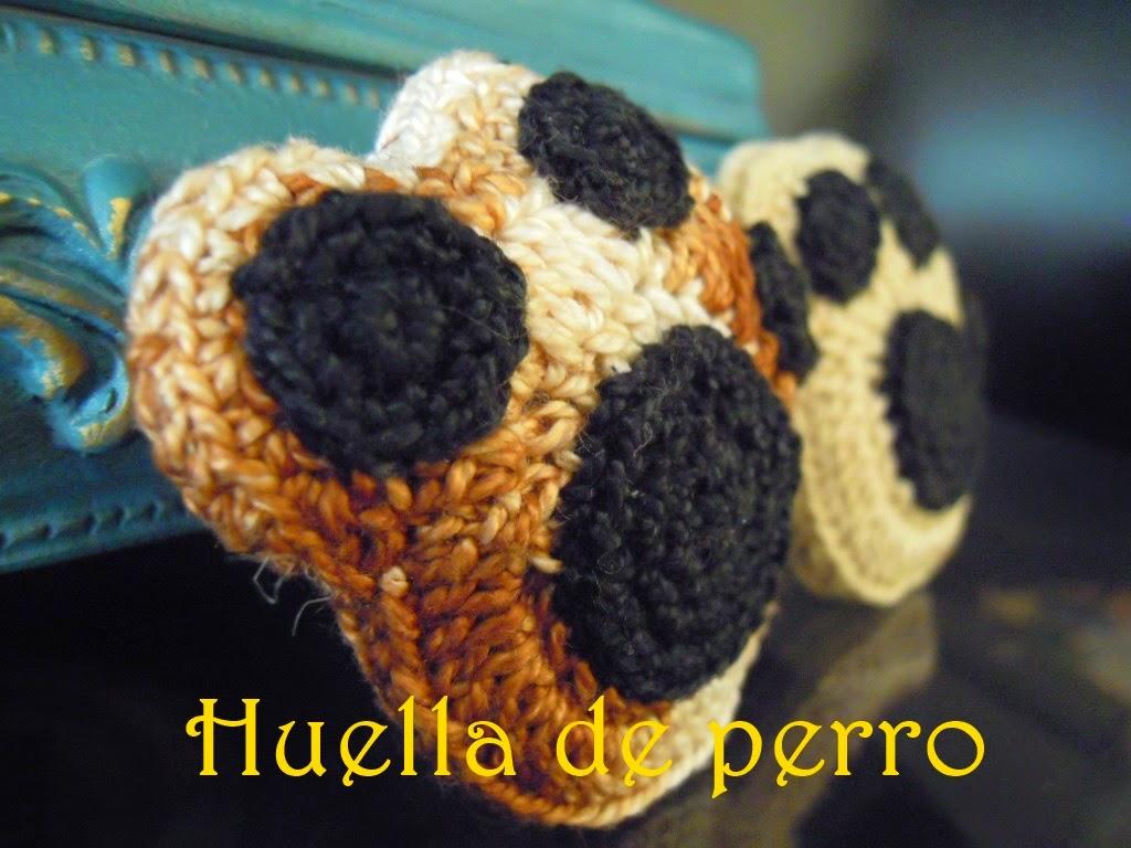 My Crochet Bubble: ¡Huella Perruna