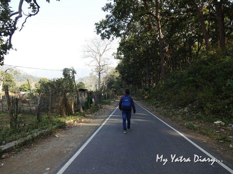 On the way to Girija Devi Temple Uttarakhand