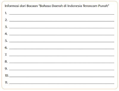 """Informasi dari Bacaan """"Bahasa Daerah di Indonesia Terancam Punah"""" www.simplenews.me"""