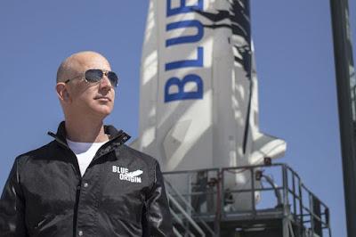 Blue Origin के संस्थापक Jeff Bezos