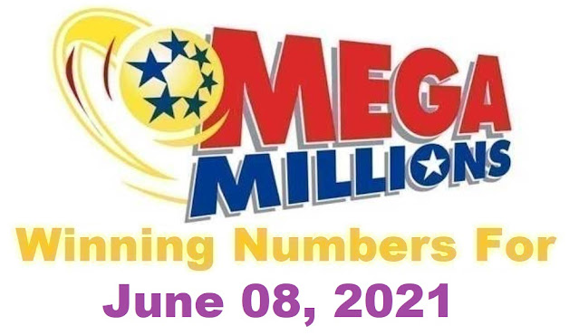 Mega Millions Winning Numbers for Tuesday, June 08, 2021