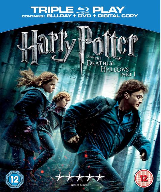 Harry Potter and the Deathly Hallows Part 1 2010 480p 350MB Blu-Ray Hindi Dubbed Dual Audio [Hindi - English] MKV