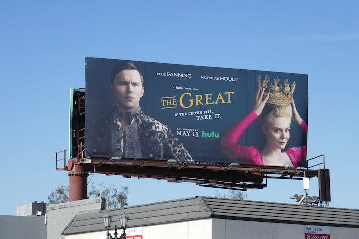 The Great series launch billboard