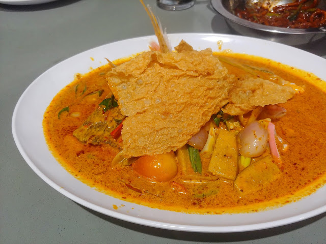 Clementi Curry Fish Head - S$20