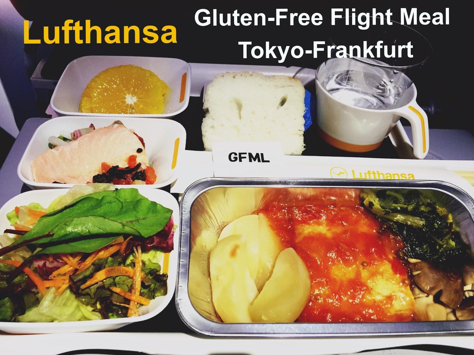 From the Gluten-Free Balcony. Gluten Intolerant Meal Etihad