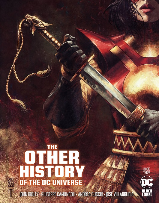 Cover of Other History of the DC Universe #3