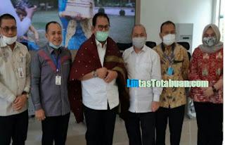 Bupati Zahir Jelaskan Penyaluran Bantuan JPS Dampak Covid- 19 Di Batu Bara