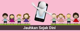 hindari anak dari penggunaan gadget
