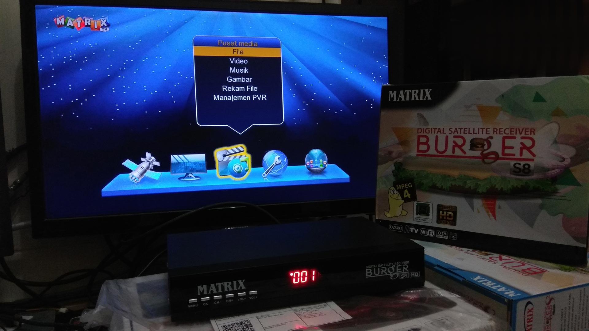 Harga dan Spesifikasi Matrix Burger S8 HD