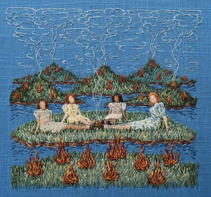 Крошечные миры из нитей. Michelle Kingdom