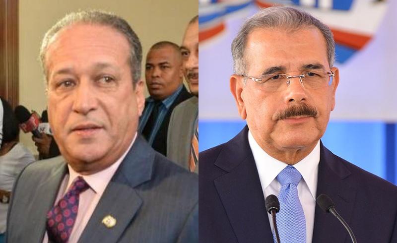 Reinaldo Pared está reunido con Danilo Medina en el Palacio; hoy presentarían proyecto de reforma en Senado