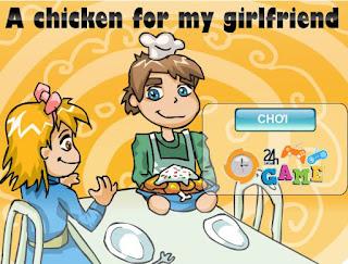 game gà quay tặng vợ dễ thương