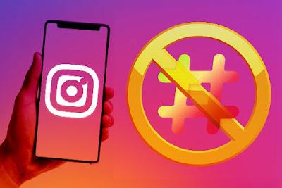 hastag yang dibanned instagram 2019