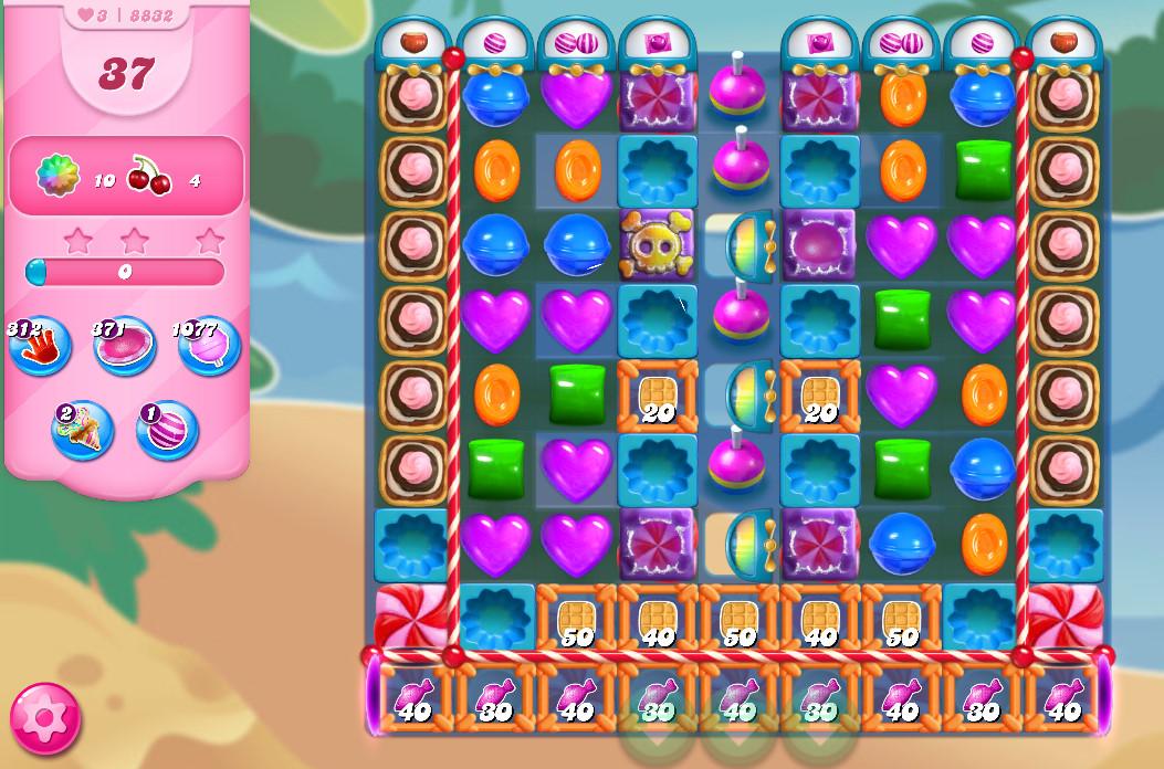 Candy Crush Saga level 8832