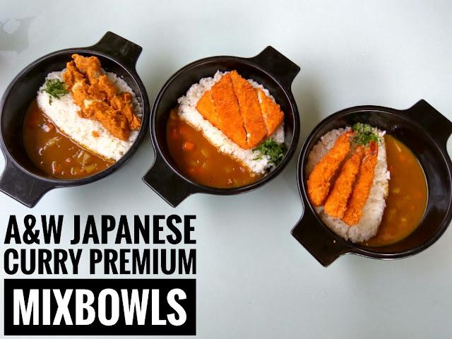 Kari Khas Jepang di A&W Restoran