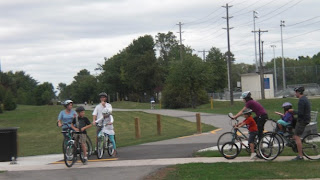 Cycling on Burlington's Multi-use Trails