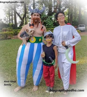 Aamir khan family, Aamir khan son azad rao khan