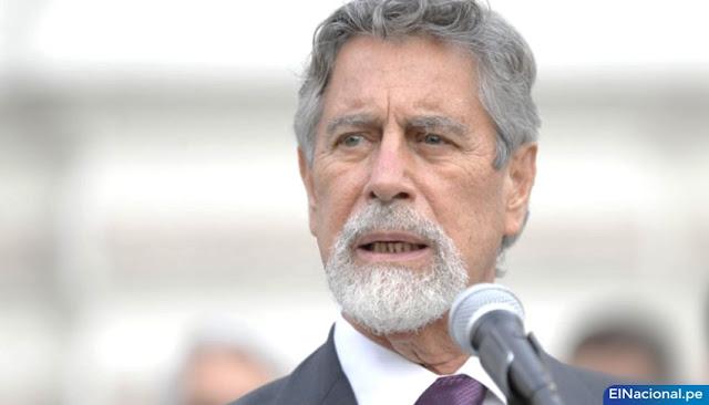 Francisco Sagasti, jura como presidente de Perú