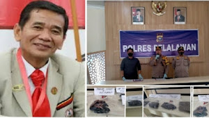 Ciduk Terduga Pembunuh Siswi SMP AKBP Indara Wijatmiko,S.Ik Gelar Konferensi Pers Bersama Puluhan Wartawan
