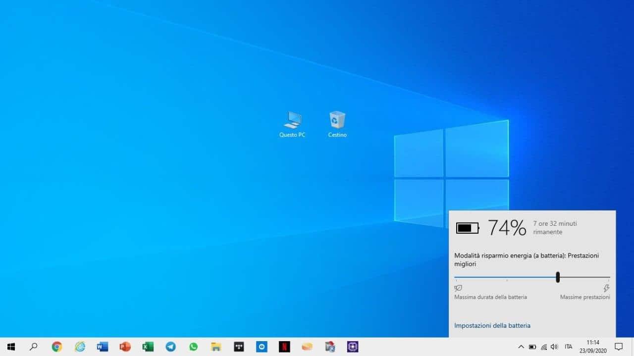 5 trucchi per risparmiare batteria su Windows 10