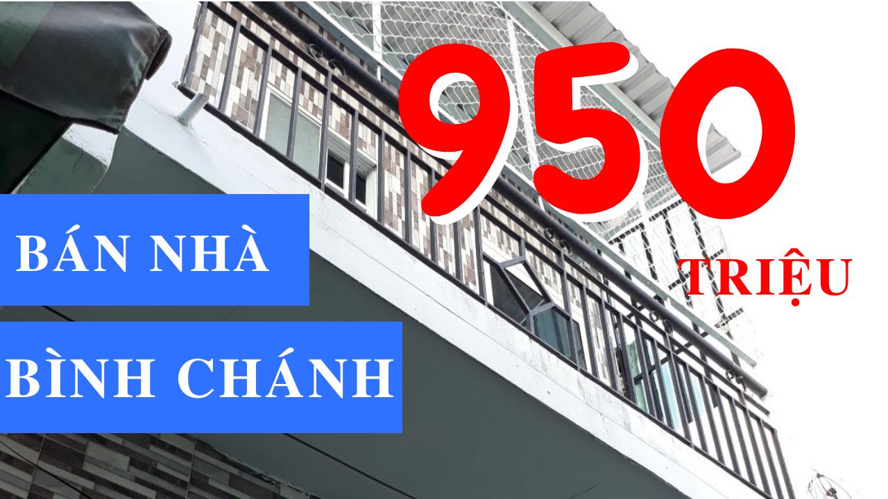 Bán nhà riêng đường Quốc lộ 50 Bình Chánh dưới 1 tỷ gần Bến xe Quận 8