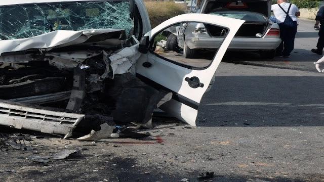 15 τροχαία ατυχήματα με έναν νεκρό και 20 τραυματίες το Δεκέμβριο στην Πελοπόννησο