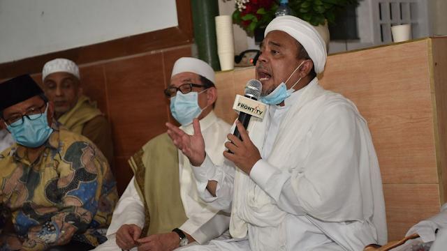 Habib Rizieq Ingatkan Bahaya 'Bom Waktu' yang Bakal Meledak