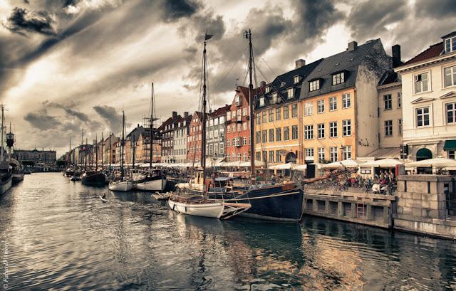 Canale di Nyhavn-Copenhagen