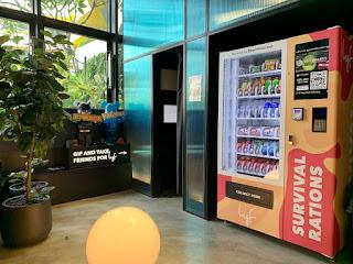 Snack vending machine at lyf Funan