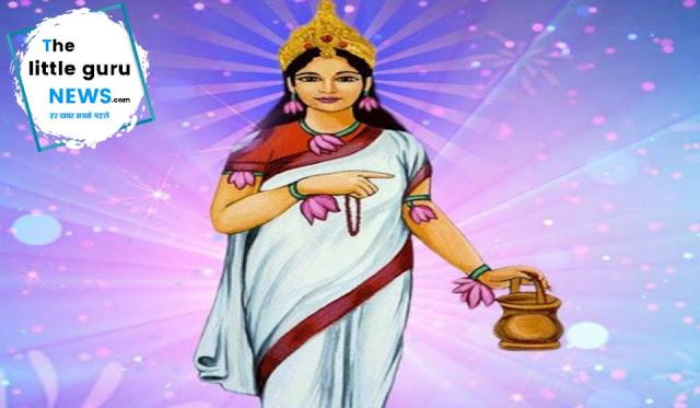 आज द्वितीय स्वरूप माता ब्रह्मचारिणी की करे पूजा