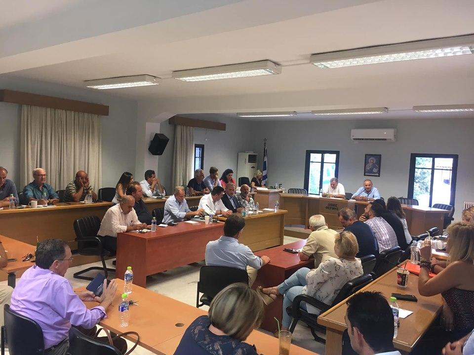 νεο Δημοτικο Συμβουλιο Δήμου Θέρμης