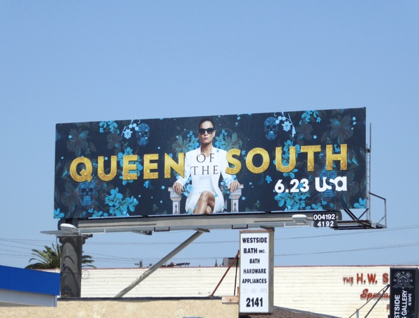 Queen of the South series premiere billboard