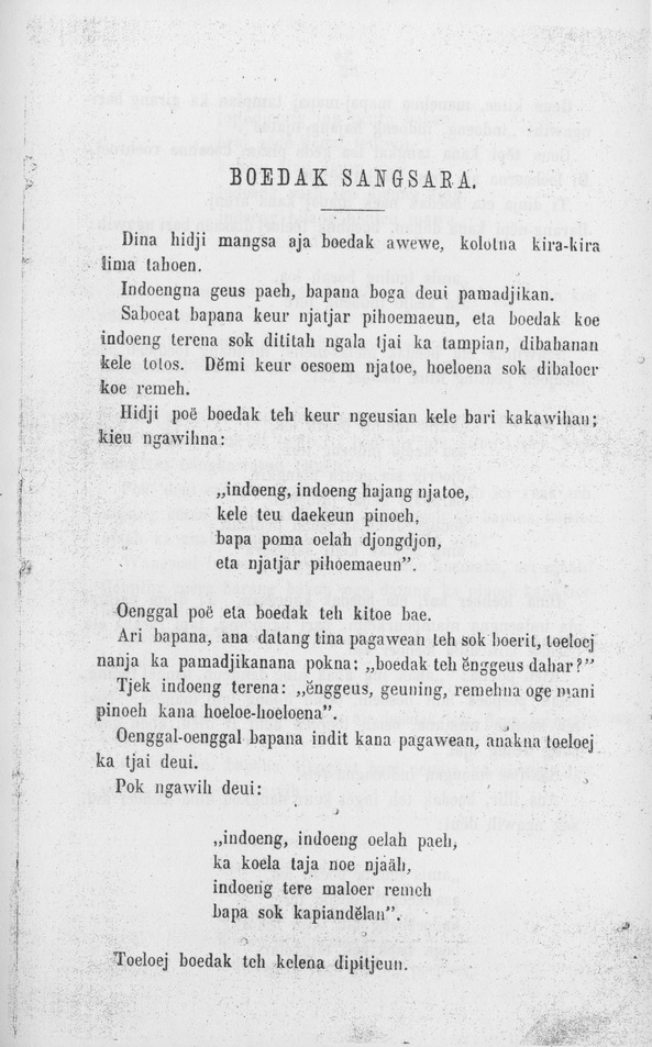 Pengertian Dongeng Basa Sunda (3 Of 3) | Referensi Artikel
